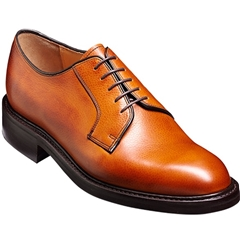 Barker Nairn Shoes - Dainite Rubber Sole - Cedar Grain
