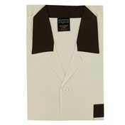 Men's Nightshirt  - Button Through Cream
