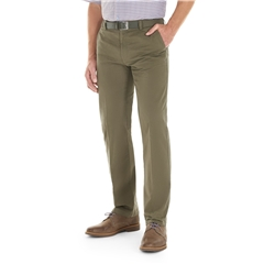 Gurteen Cotton Trouser - Olive - Longford 1213 012