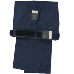 "Gurteen Light-weight Cotton Trouser - Navy - Longford 1400 032 - Size 38""L Only"