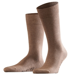 Falke Cotton Short Sock - Nutmeg Melange