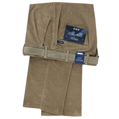 Autumn 2018 Bruhl Cotton Needle Corduroy Trouser - Sand - Parma B 130160 220