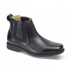 Anatomic & Co Amazonas Wide Fit Chelsea Boots - Full-Grain Black