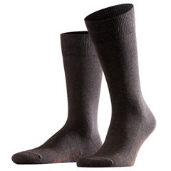 Falke Cotton Short Sock - Dark Brown