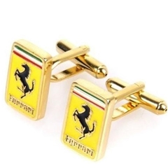 Ferrari Cufflinks - Ferrari Design Cuff Links