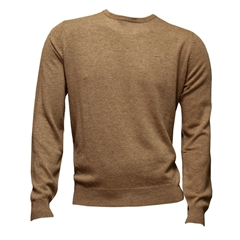 Fynch-Hatton Wool & Cashmere Crew-Neck - Nut