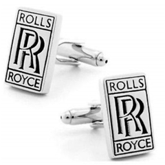 Rolls Royce Cufflinks - Rolls Royce Design Cuff Links