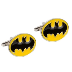 Batman Cufflinks - Batman Design Cuff Links