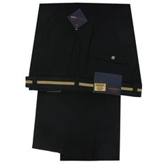 Oakman Cotton Rich Trouser - Black