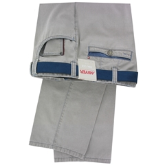 """Meyer Trouser Fine Texture Cotton Jeans-Style - Stone - Style Diego 5117 33 - Size 50""""R Only"""