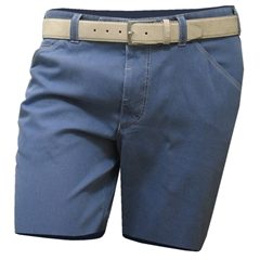 Meyer Cotton Shorts - Blue - Online Exclusive