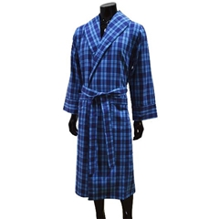 Lightweight Men's Dressing Gown - Turquoise