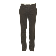 Club Of Comfort Cotton Corduroy Trouser - Dark Green - Derry 5810 70