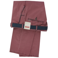 Meyer Trousers Luxury Cotton - Raspberry - Online Exclusive