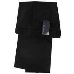 M.E.N.S. Dress wool stretch trouser - Black