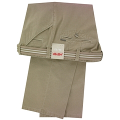 """Meyer Trousers Luxury Cotton Cotele - Camel - Style Chicago 5131 43 - Size 32""""R Only"""