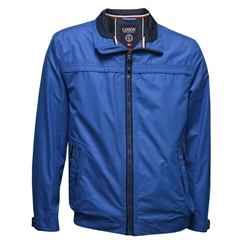 Canson of Denmark Aqua-Tex Zip Jacket - Royal Blue - Size 3XL & 5XL