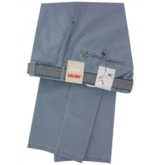 """Meyer Trousers Luxury Pima Cotton - Light Blue - Style Rio 3108 16 - Size 42""""R Only"""