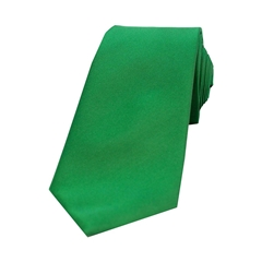 The Silk Tie Company - Emerald Green - 100% Satin Silk Tie