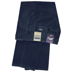 Meyer Trousers Luxury Corduroy - Navy - Style Roma 5529 16