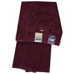 Meyer Trousers Luxury Corduroy - Bordeaux - Style Roma 5529 56
