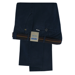 "Meyer Trousers Winter Cotton - Deep Blue - Style Roma 5502 16 - Size 40""R Only"