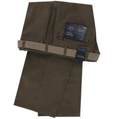 Bruhl Luxury Cotton Trouser - Donkey Brown - Montana 182310 520