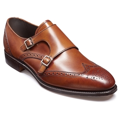 Barker Fleet - Antique Rosewood Calf