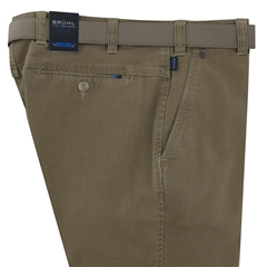 New 2018 Bruhl Cotton Trouser - Catania B - Fawn - 182089 220