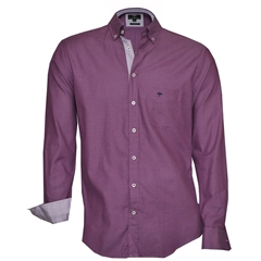 Fynch-Hatton Shirt - Lavender Soft Compact Cotton
