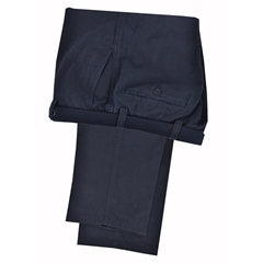 Autumn 2018 Gurteen Autumn-weight Cotton Trouser - Navy - Longford 1448 086