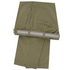 Meyer Trousers Luxury Cotton Twill - Fawn - Style Madrid 5502 32