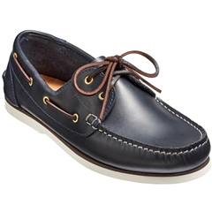Barker Wallis  - Navy Calf