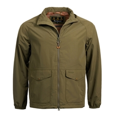 New 2018 Barbour Men's Dee Jacket - Army Green