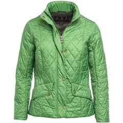 Barbour Women's Cavalry Quilted Jacket - Clover - Size 10 Only
