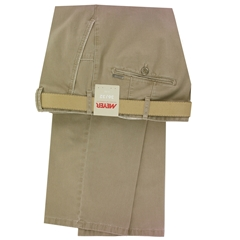 Meyer Summer Cotton Trouser - Camel - New York 5001 33