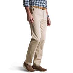 Meyer Trouser Cotton - Beige- Roma 3001 32