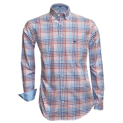 Fynch Hatton Shirt - Berry & Blue