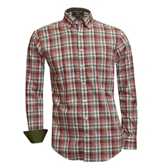 Fynch Hatton Shirt - Olive & Red