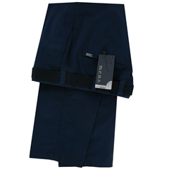 m.e.n.s. Spring Cotton Chino Trouser - Dark Blue