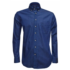 Autumn 2018 Giordano Washed Denim Shirt - Regular Fit