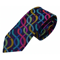 Van Buck Limited Edition - Multi Swirls Design Tie