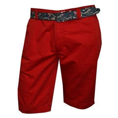 Meyer Summer Cotton Shorts - Hot Red