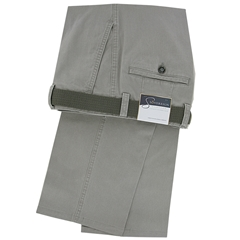Gurteen Cotton Trouser - Silver - Longford 1213 070