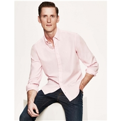 Hackett Cotton Oxford Shirt - Baby Pink