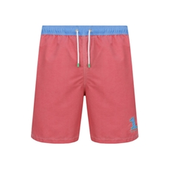 Hackett Faded Swim Shorts - Pink