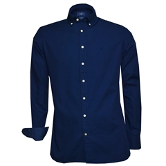 Hackett Cotton Oxford Shirt - Petrol