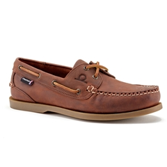Chatham Marine Deck II G2 Boat Shoe - Red Brown