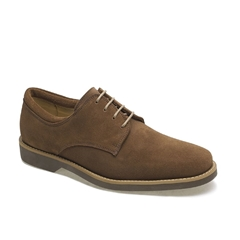 Anatomic & Co Derby Shoes - Delta - Tobacco Brown Suede
