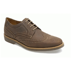 Anatomic & Co Tucano Brogue Shoes - Tobacco Mustang